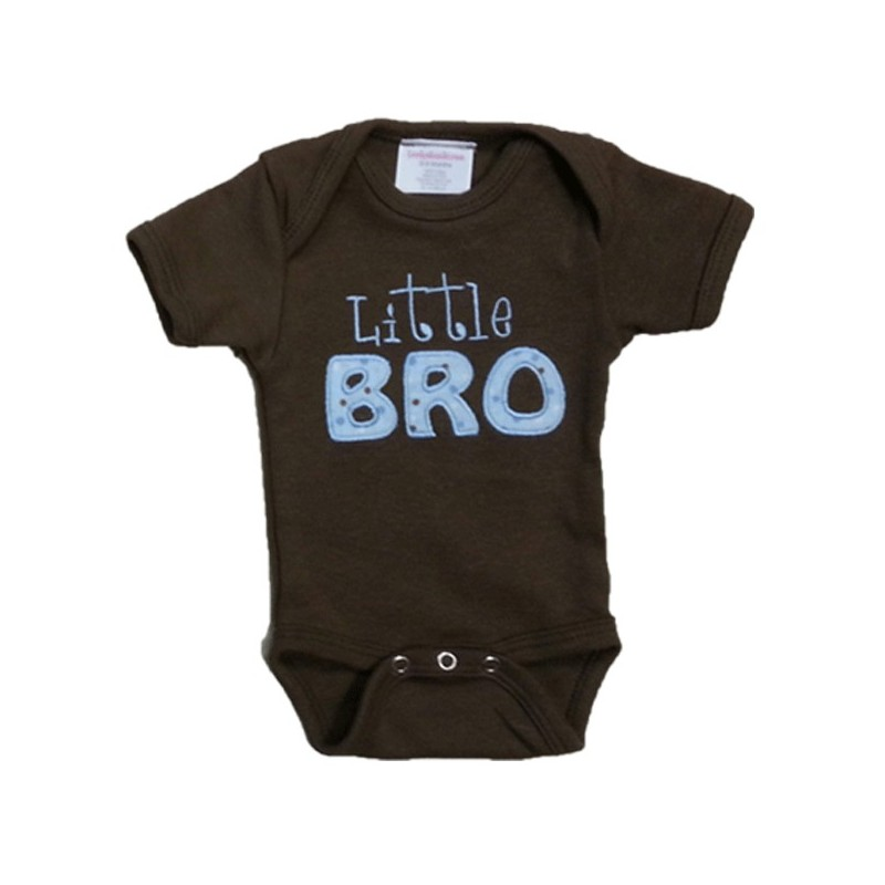 Little Or Big Bro Or Sis T Shirt Lucky Skunks Baby
