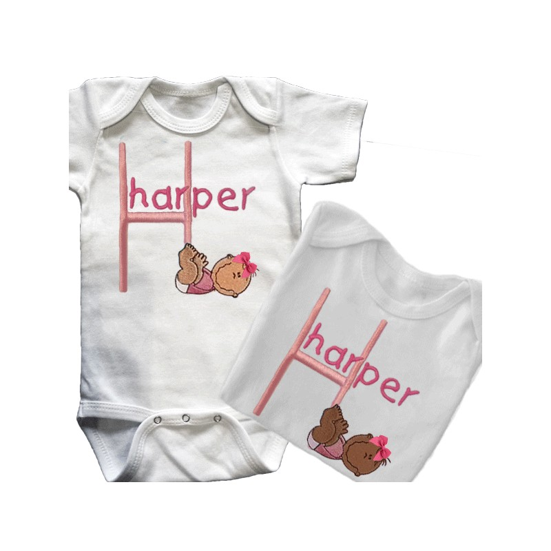 baby smiles personalized t shirt or onesie lucky