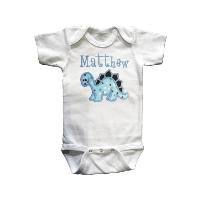 Cute Amp Cuddly Blue Dinosaur Baby Outfit