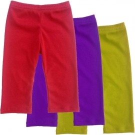 Red, Purple, or Yellow Baby & Toddler Leggings