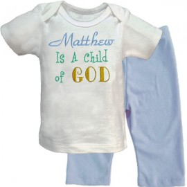 Child of God Baby Boy Outfit
