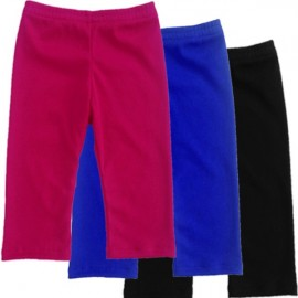 Black, Royal Blue, or Bright Pink Baby & Toddler Leggings