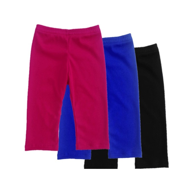 Black, Royal Blue, or Bright Pink Baby & Toddler Leggings - Lucky ...