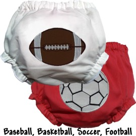 Sports Fan Baby Bloomers