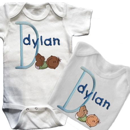 Baby Smiles Personalized T Shirt Or