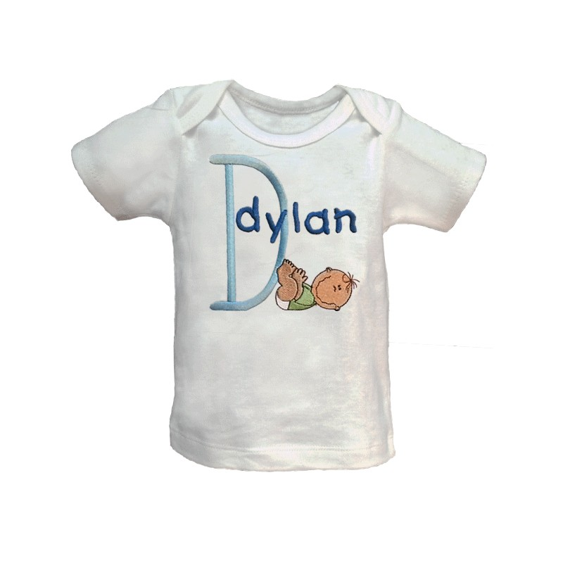 Baby smiles personalized t shirt or onesie lucky skunks for Unique custom t shirts