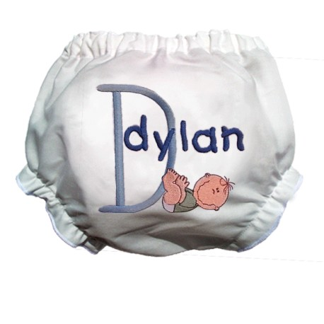 Baby Smiles Personalized Bloomers