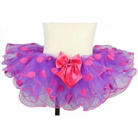 Pink and Purple Polka Dot Tutu