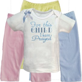 This Child I Have Prayed Baby Outfit