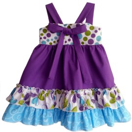 Sweetness in Purple Baby & Toddler Dress