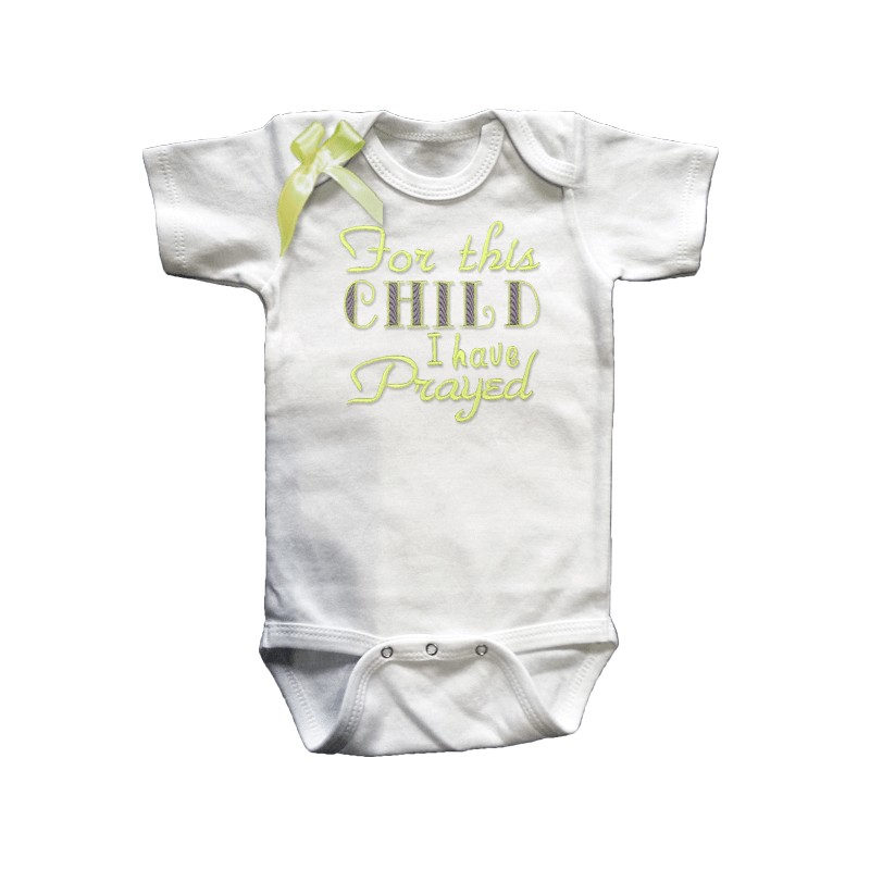 Custom Baby Clothing   Month