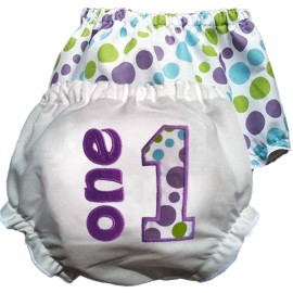 1st Birthday Diaper Cover
