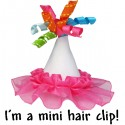 Mini Birthday Hat Hair Clip