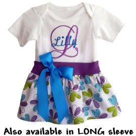 Custom Onesie Baby Dress