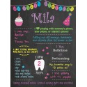 This Is ME! 1st Birthday Chalkboard Poster