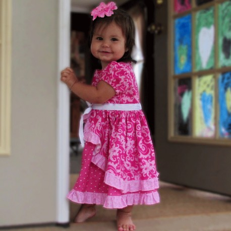 Ruffled Princess Baby and Toddler Dress