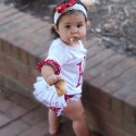 Personalized Red Polka Dot Outfit