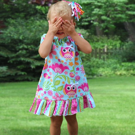 Adorable Owls Baby & Toddler Dress