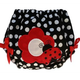 Adorable Ladybug Diaper Cover