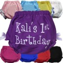 Personalized 1st Birthday Bloomers