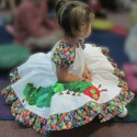 Cute Caterpillar Toddler Dress