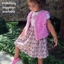 Tea Stained Girls Dress