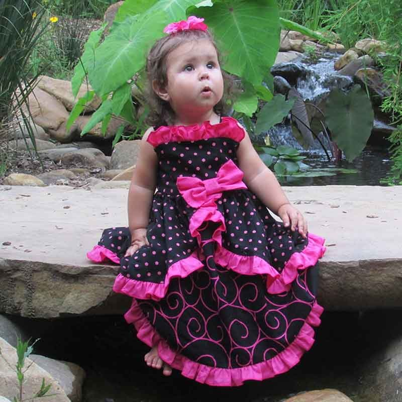 Cutest Ruffled Baby Amp Toddler Birthday Dress Ever Lucky