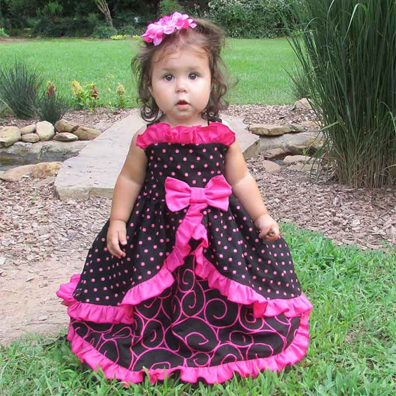 Cutest Ruffled Baby Toddler Birthday Dress Ever