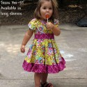Beautiful Yellow Floral Baby and Toddler Dress