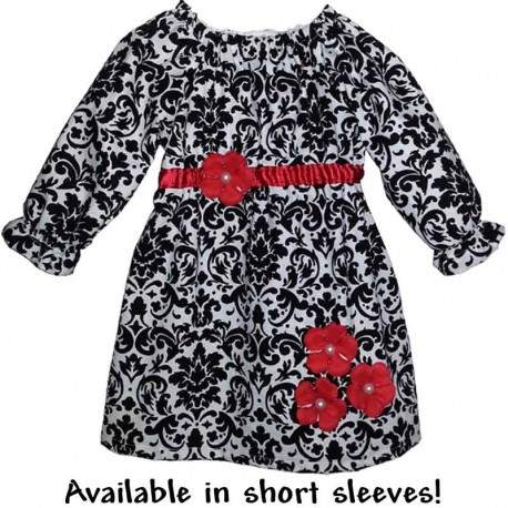 Black, White, and Red Baby & Toddler Dress