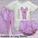 Cute & Cuddly Pink Bunny Baby Outfit