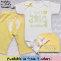 Yellow Take Me Home Baby Outfit