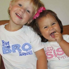 Little-Middle-Big SIS or BRO T-shirt