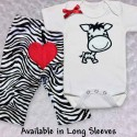 Cute Zebra Baby Outfit