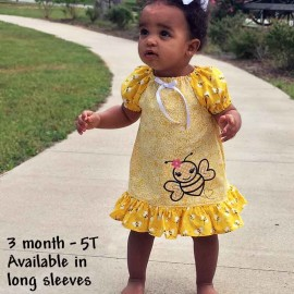 Bumble Bee Baby & Toddler Dress