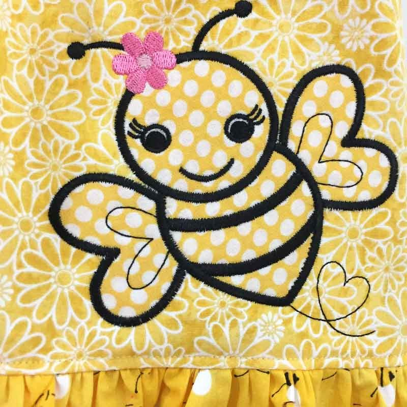 Bumble Bee Baby Amp Toddler Dress Lucky Skunks Baby