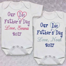 Fathers Day Baby Shirt