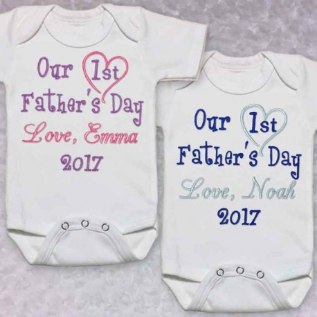 36d1e5806 Personalized Baby Clothes & Toddler Outfits>Fathers Day Baby Shirt. Fathers  Day Baby Shirt
