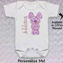 Cute Pink Bunny T-shirt or Baby Onesie