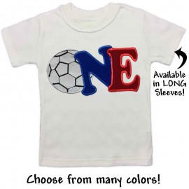 First Birthday Soccer T-shirt