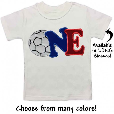 First Birthday Soccer T Shirt