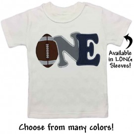 First Birthday Football T-shirt