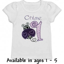 Ladybug Birthday Girl Shirt