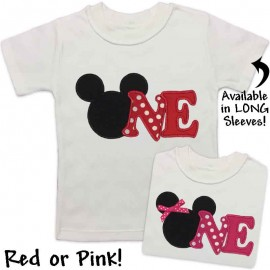 Mouse 1st Birthday Shirt