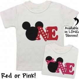 Mouse 1st Birthday Shirt
