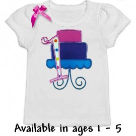 Colorful Girl's Birthday Shirt