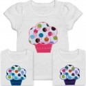 Girls Cupcake Shirt