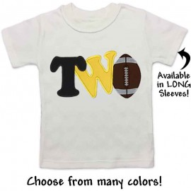 2nd Birthday Football Shirt