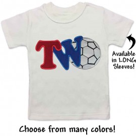 2nd Birthday Baseball T-shirt