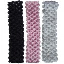 Headband Trio Black-Soft Pink-White
